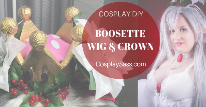 boosette, cosplay, bowsette, diy, craft, craft foam, cosplayer, cosplay diy, handmade, tutorial, crown, super crown, mario, cosplaysass